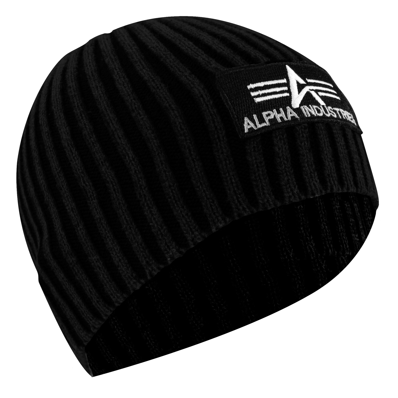 Beanie Cap Heavy Rib Alpha Industries schwarz