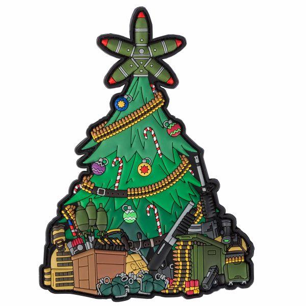 TacOpsGear 3D Patch PVC Taktischer Weihnachtsbaum