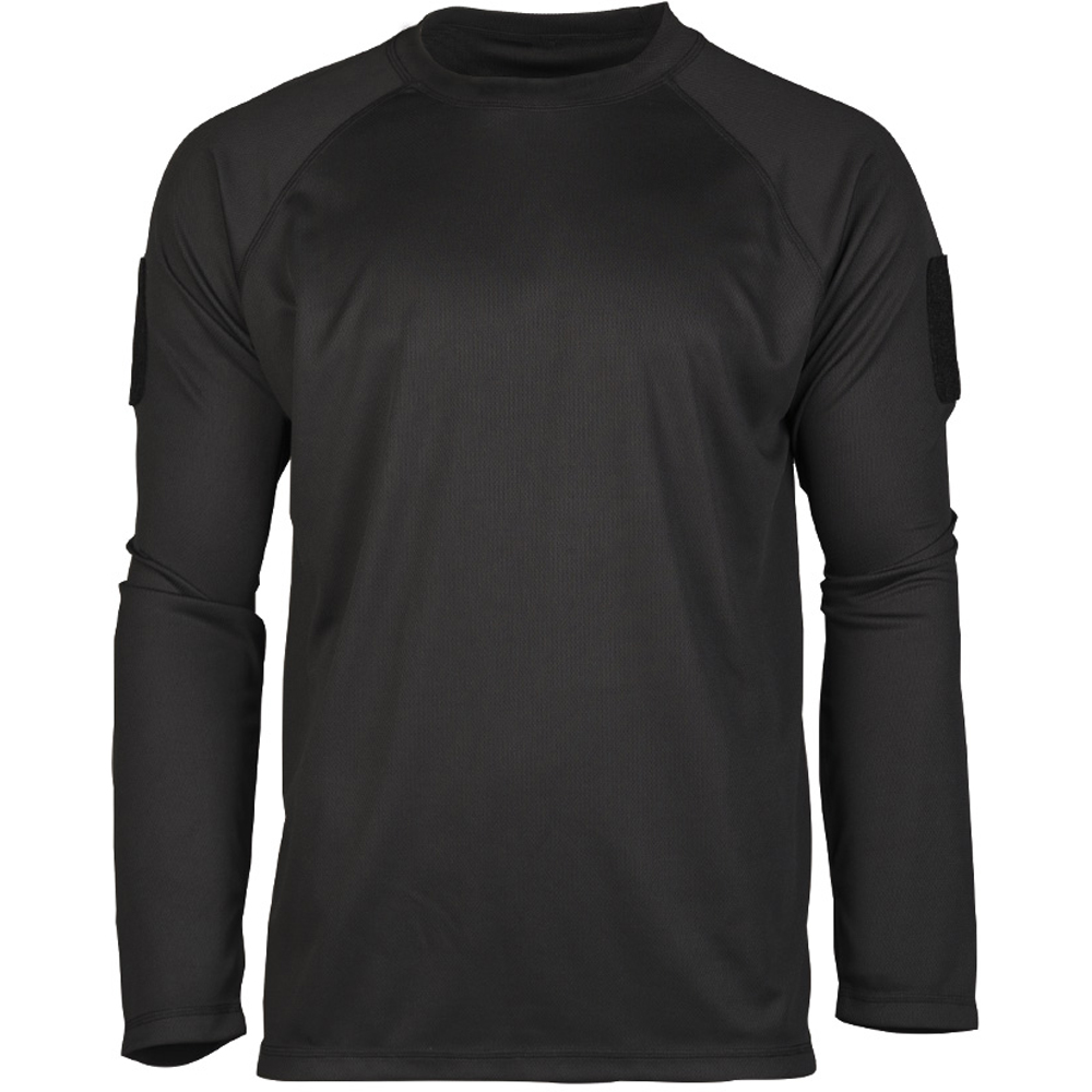 Mil-Tec Tactical Quick Dry Langarmshirt schwarz