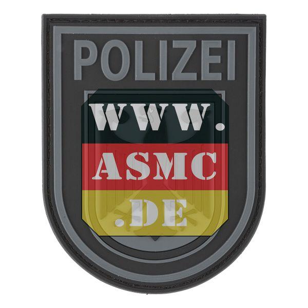 3D-Patch Bundespolizei schwarz