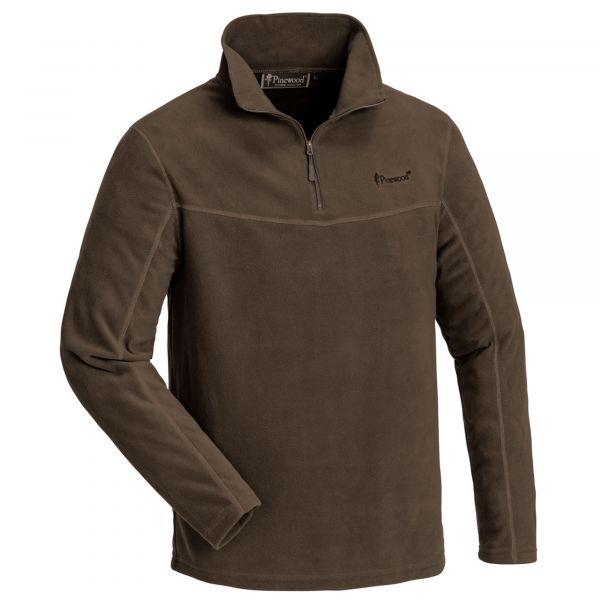 Pinewood Sweater Tiveden Fleece suede brown