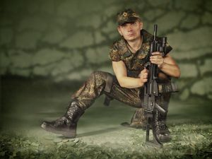 Military Fashion Show :)