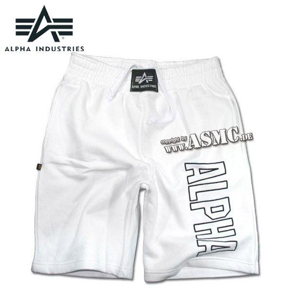 Alpha Industries Track Short weiss