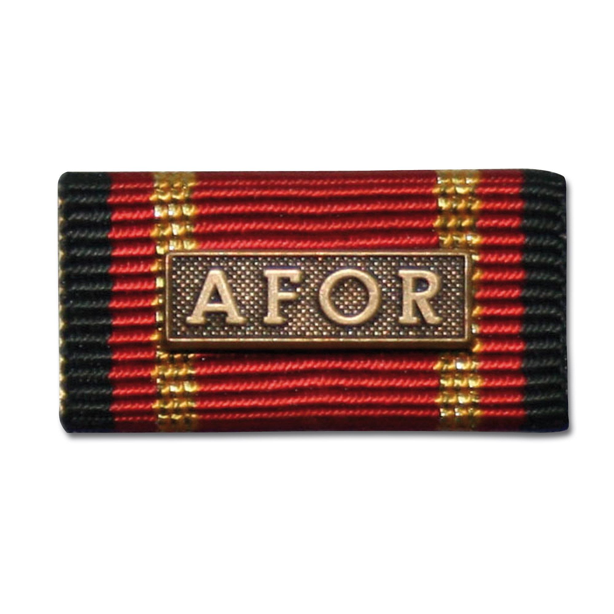 Ordensspange Auslandseinsatz AFOR bronze