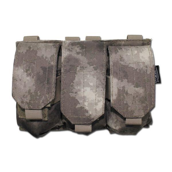 Magazintasche dreifach Molle HDT-camo