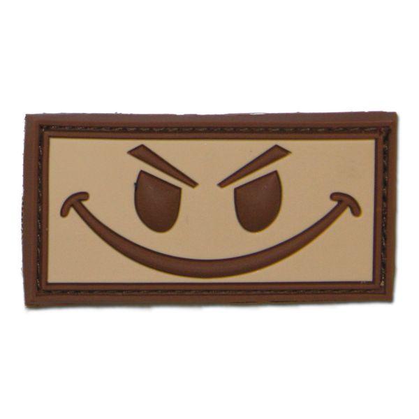 3D-Patch Evil Smiley desert