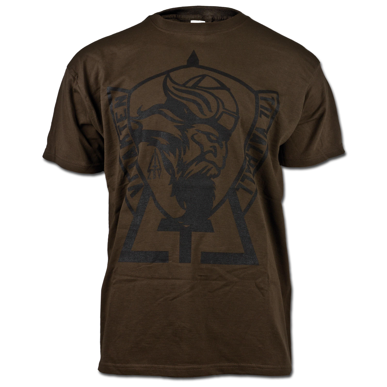 JTG T-Shirt Vi Jakten braun