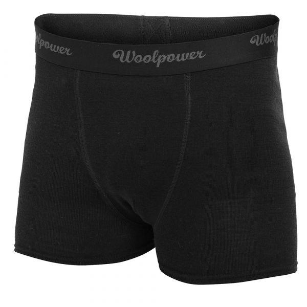Woolpower Unterhose Boxer Ms Lite schwarz