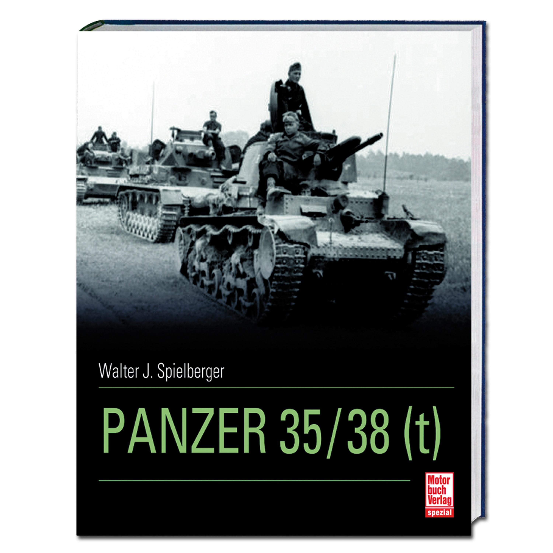 Buch Panzer 35 t / 38 t