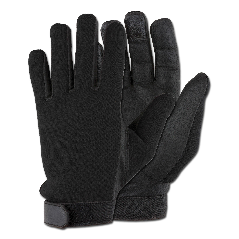 Handschuhe Neopren schwarz