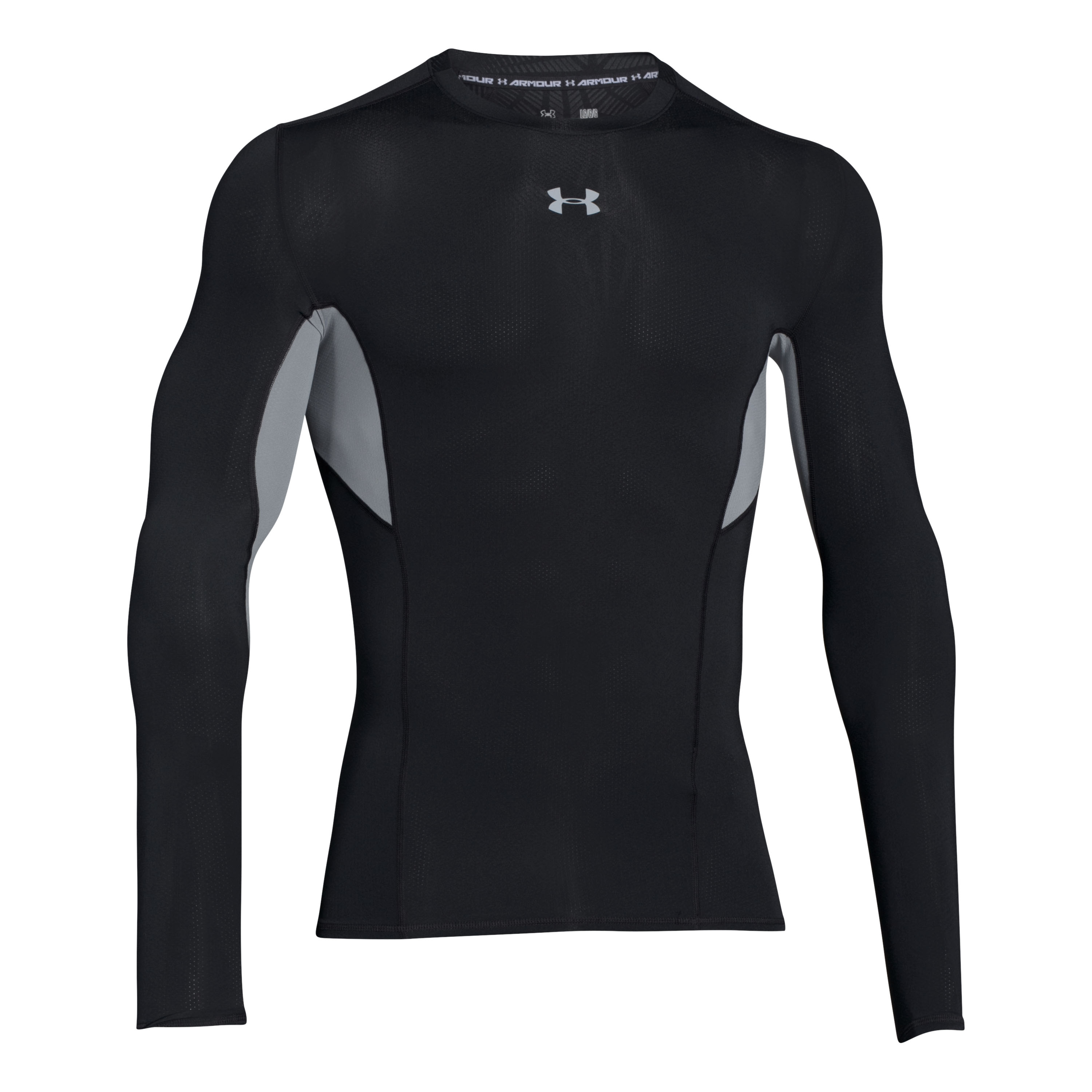 Under Armour Shirt Compressions Longsleeve schwarz-grau