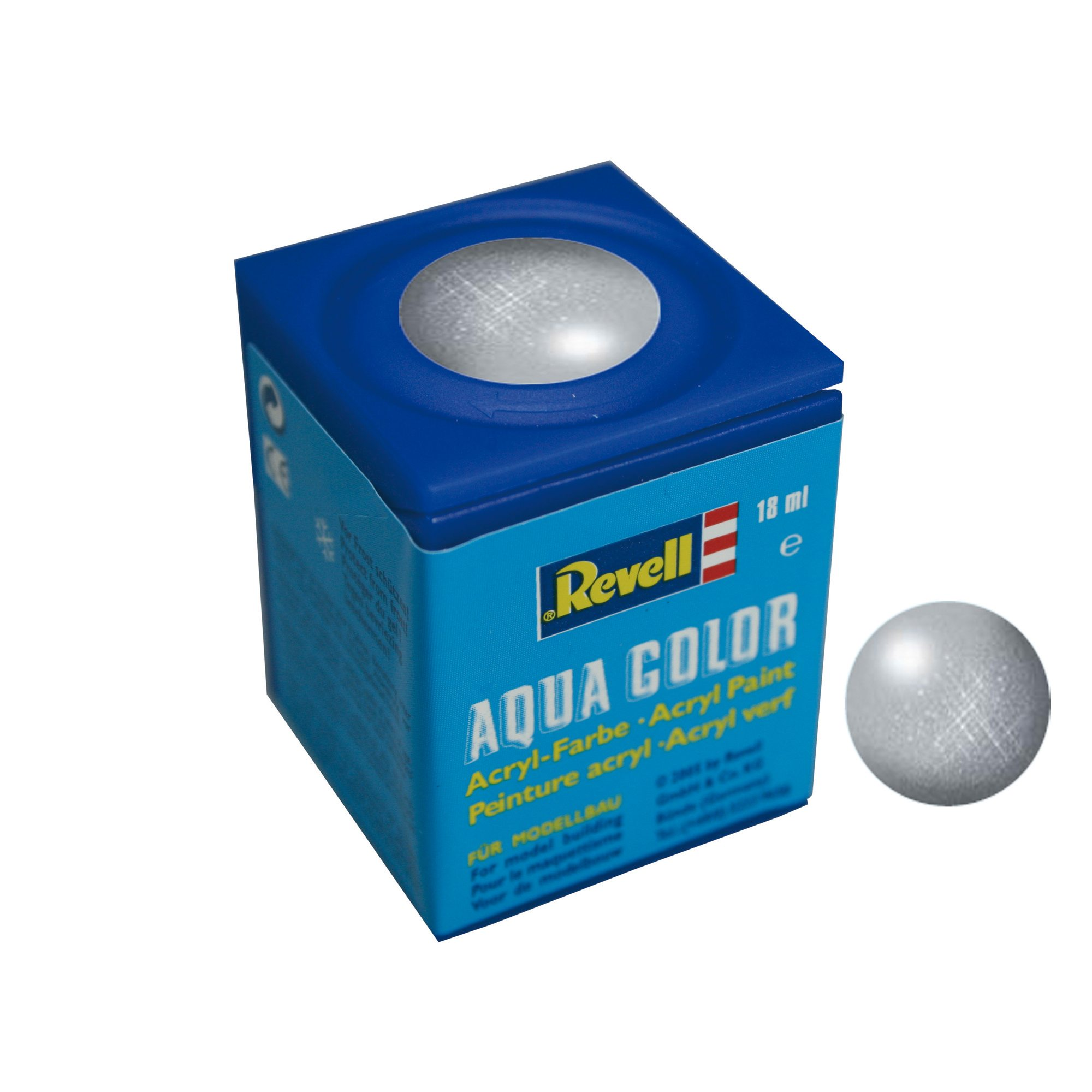 Revell Aqua Color metallic Silber