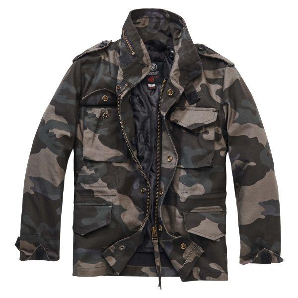 Brandit Jacke M65 Standard Jacket Kids darkcamo