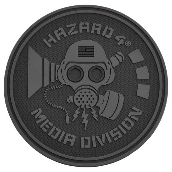 Hazard 4 Rubber Patch Media Division schwarz