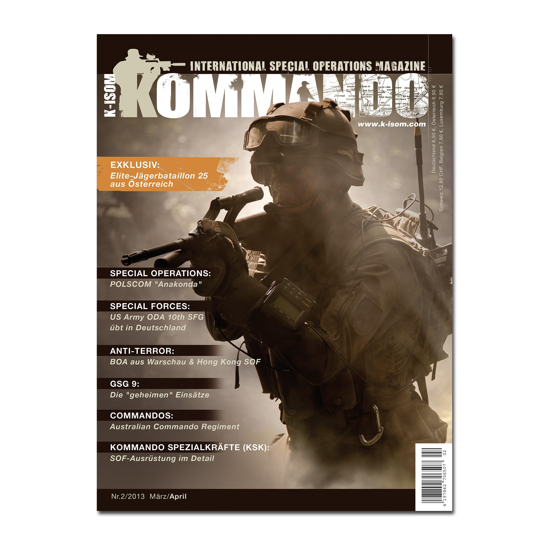 Kommando Magazin K-ISOM Ausgabe 02-13