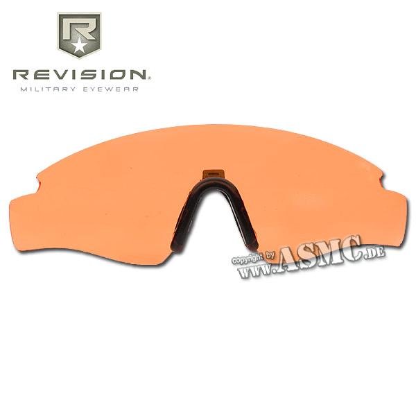 Ersatzglas Revision Sawfly Max-Wrap orange large
