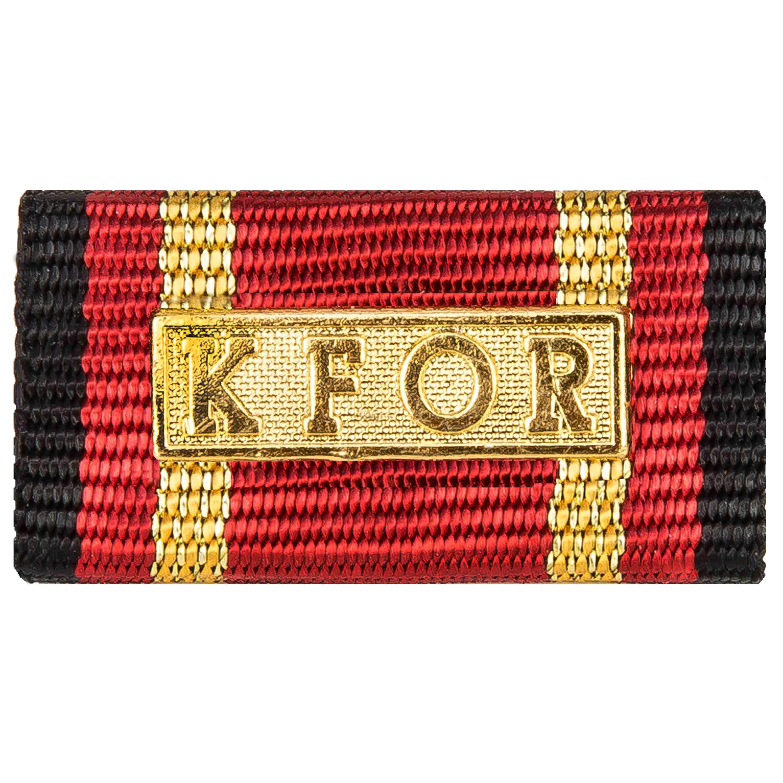 Ordensspange Auslandseinsatz KFOR gold