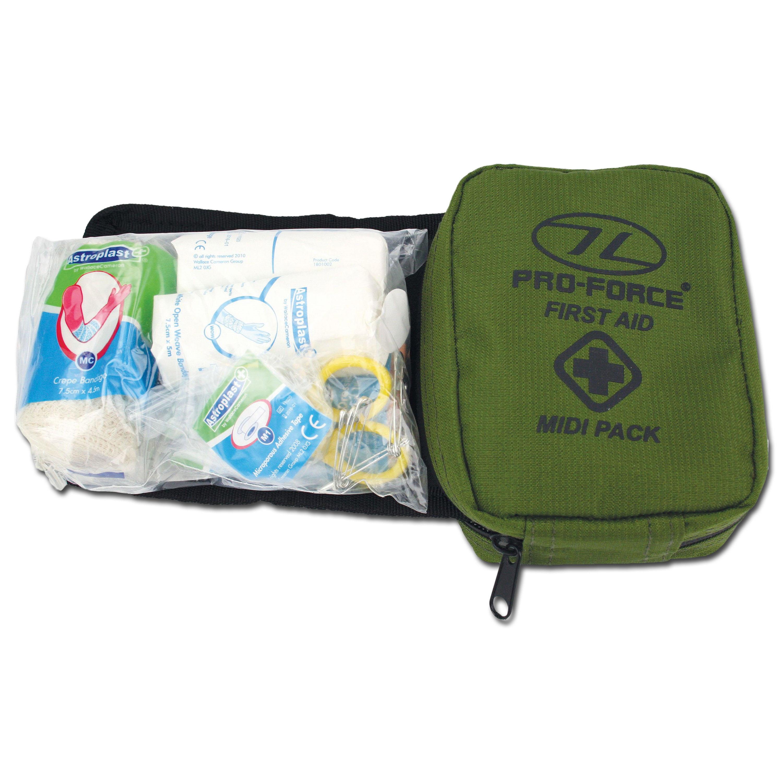 Highlander First Aid Kit Midi oliv