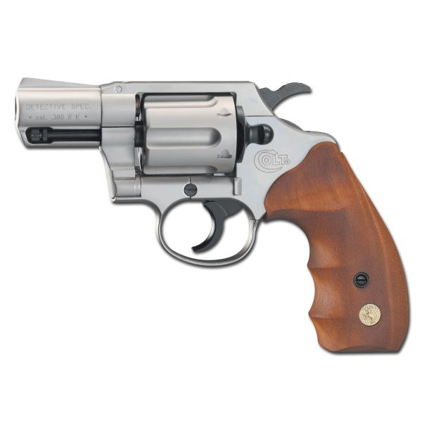Colt Detective Special vernickelt