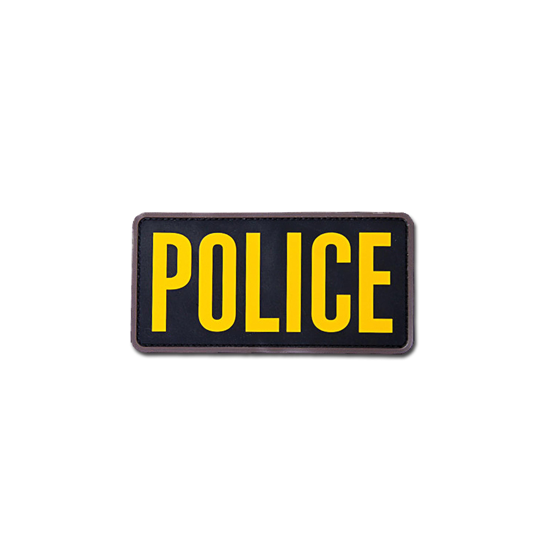 MilSpecMonkey Patch Police 6x3 PVC gold