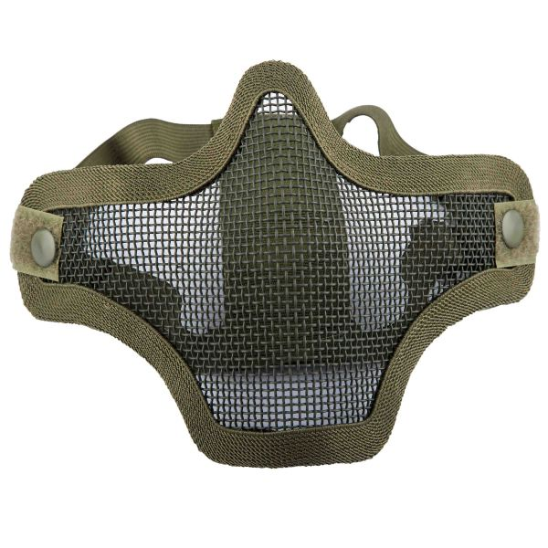 Invader Gear Gitterschutzmaske Steel Half Face Mask oliv