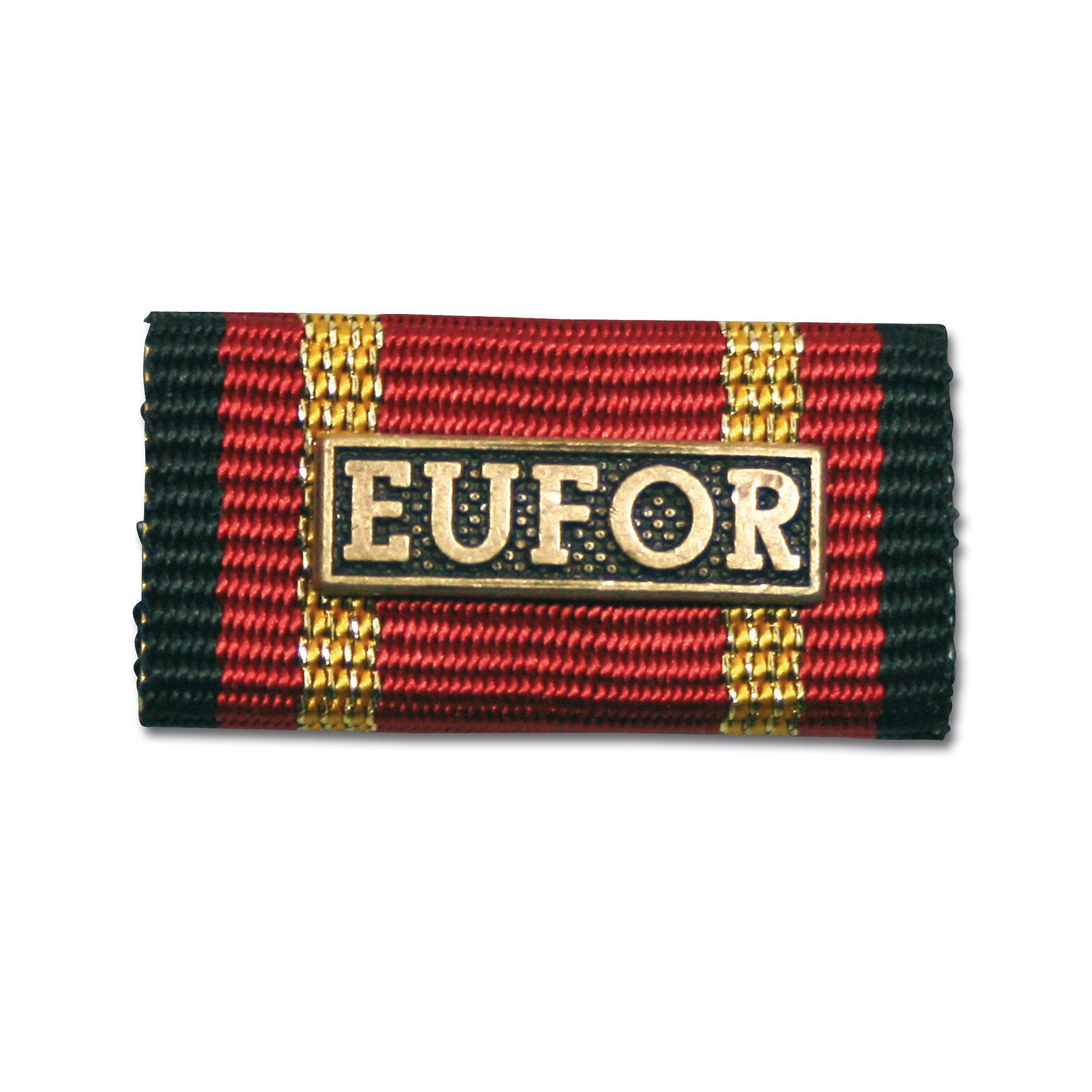 Ordensspange Auslandseinsatz EUFOR bronze