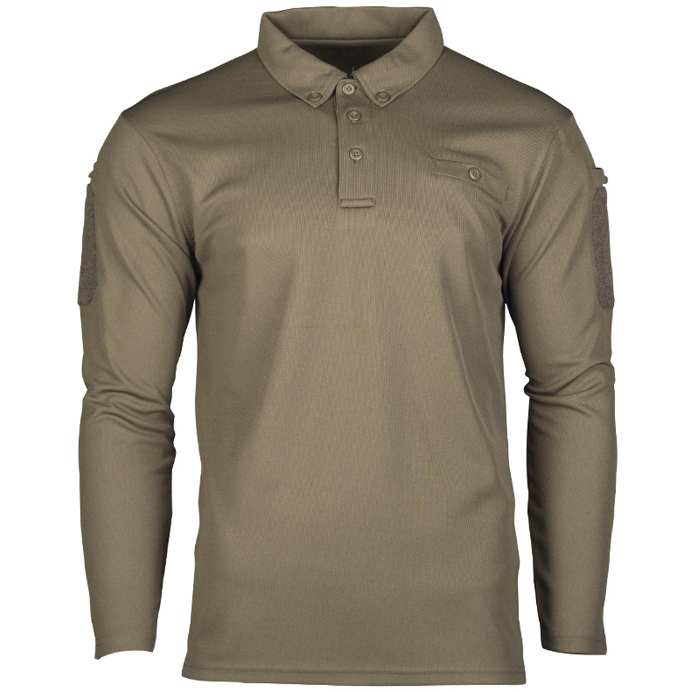 Mil-Tec Tactical Quick Dry Poloshirt oliv