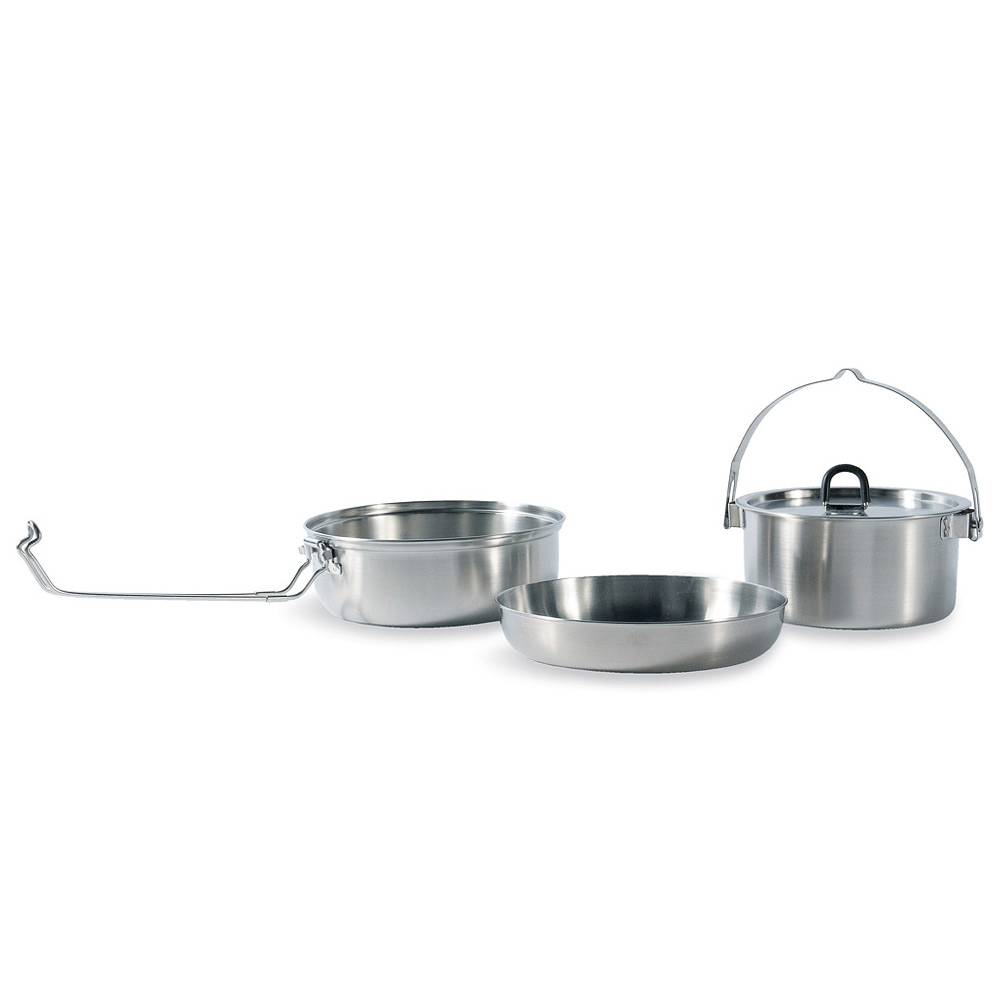 Tatonka Camp Set large stainless steel