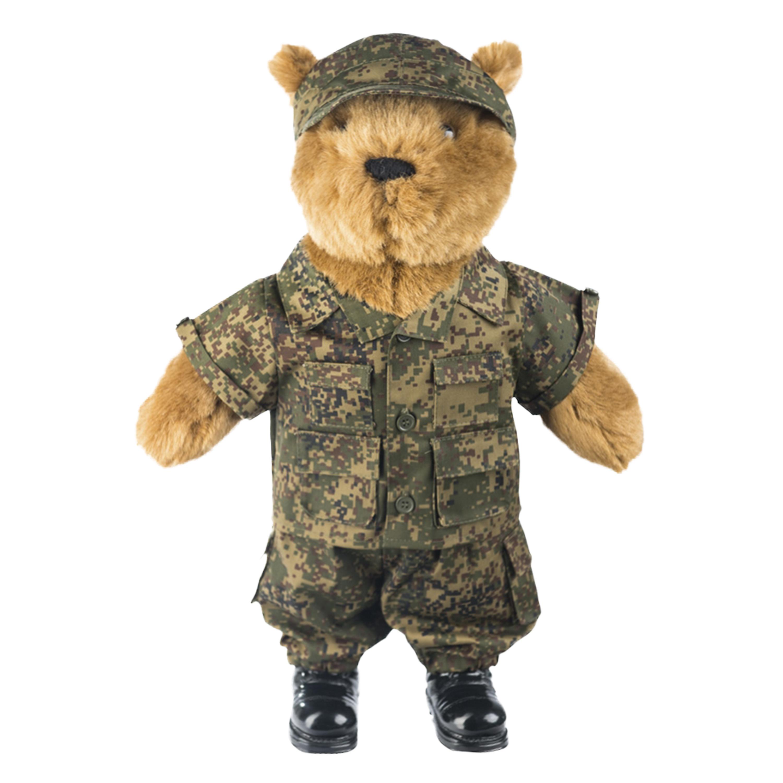 Teddyanzug groß russisch digital tarn