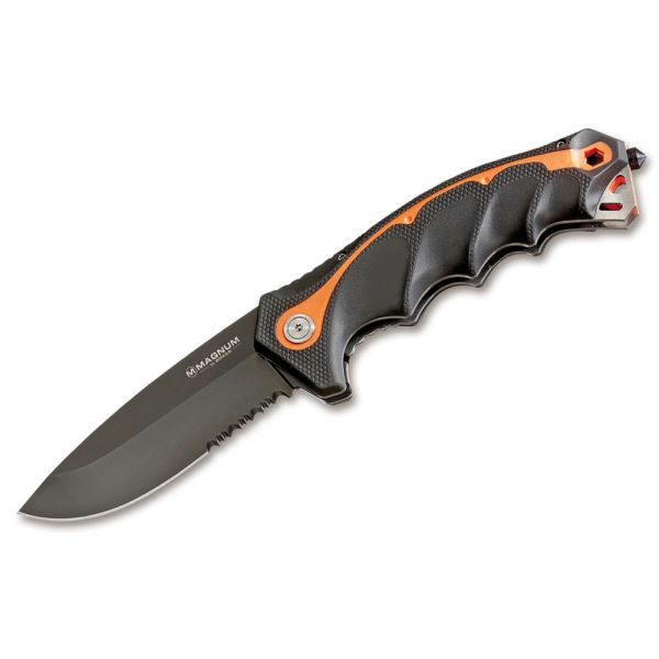 Magnum Taschenmesser Chainsaw Attendant schwarz orange