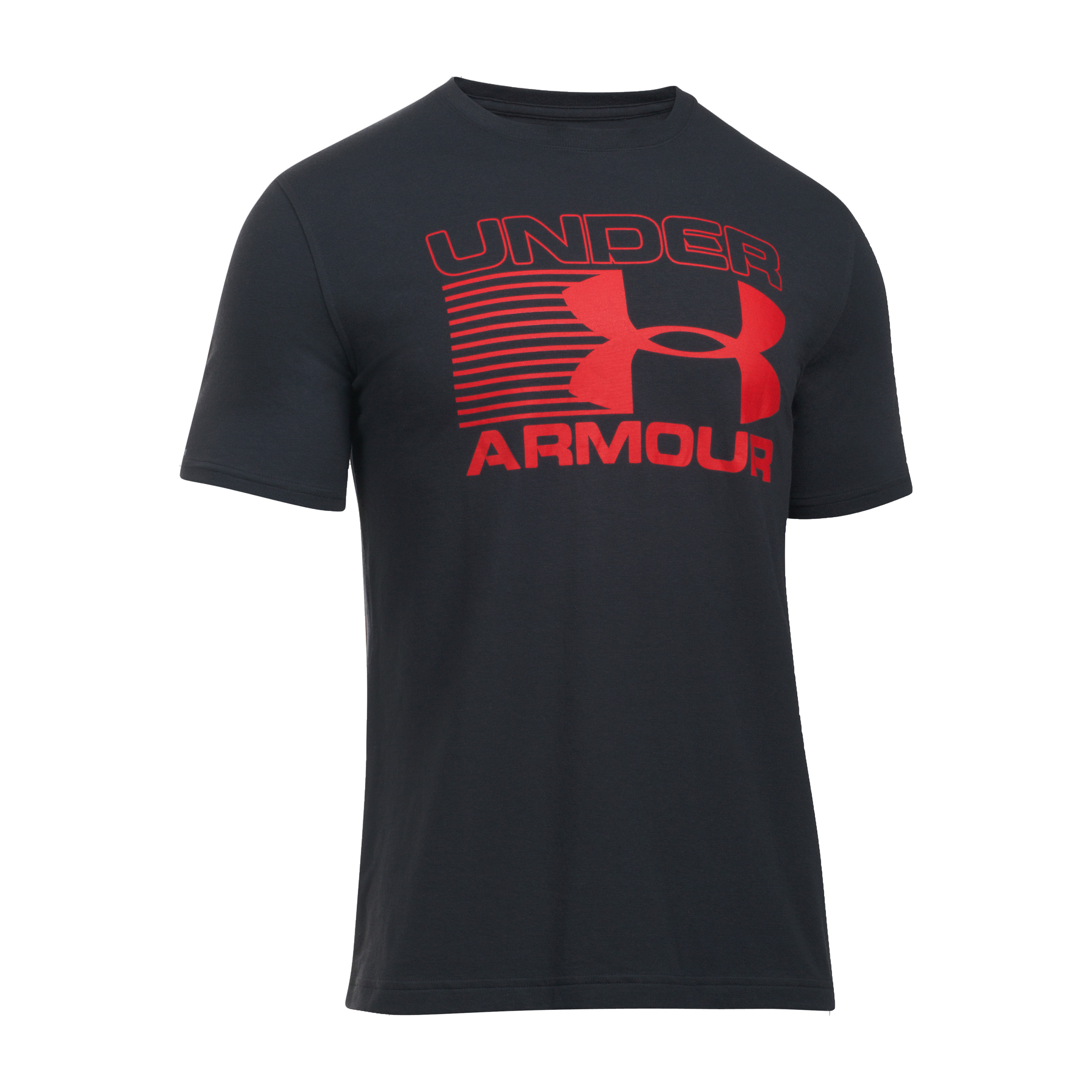 Under Armour Shirt Blitz Logo schwarz