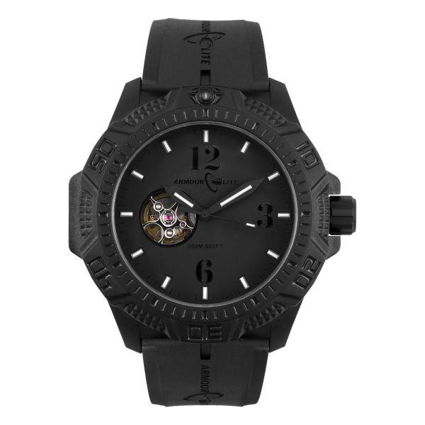 ArmourLite Uhr Caliber AL1214 schwarz