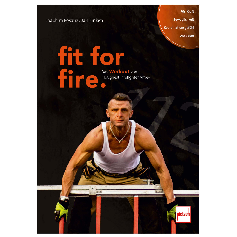 Buch fit for fire - Das Workout von Toughest Firefighter Alive