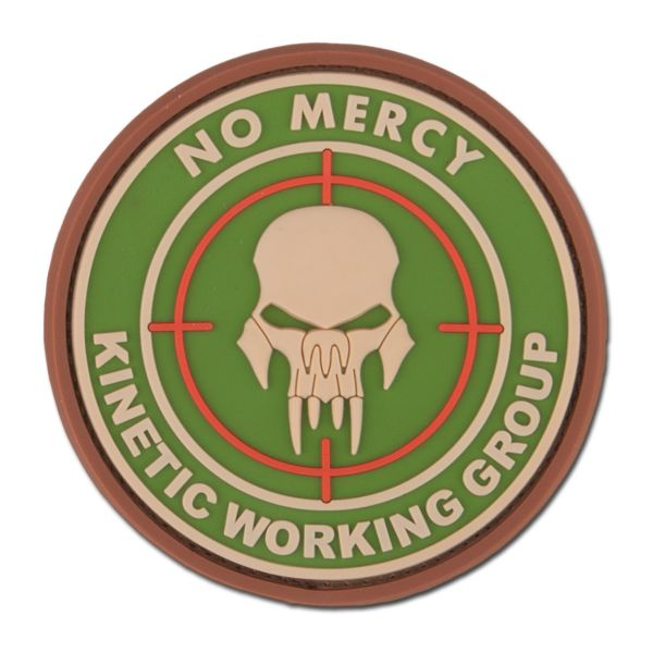 3D-Patch NO MERCY - KINETIC WORKING GROUP multicam