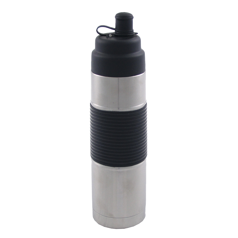 Trinkflasche faltbar 0.5 L grau
