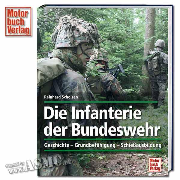 Buch Die Infanterie der Bundeswehr