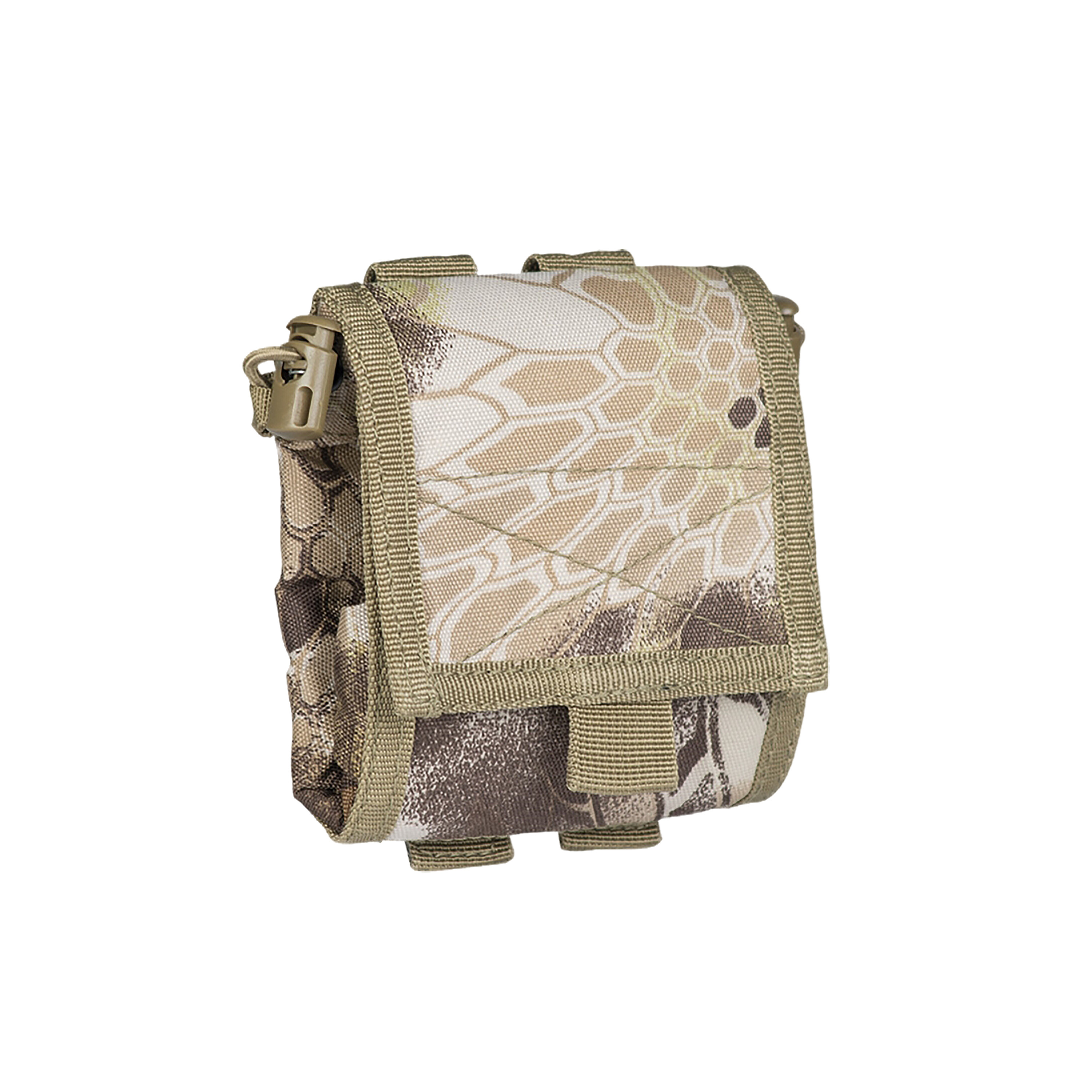 Empty Shell Pouch Collaps mandra tan