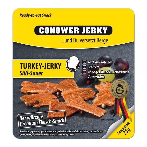Conower Jerky Turkey Süß-Sauer 25 g