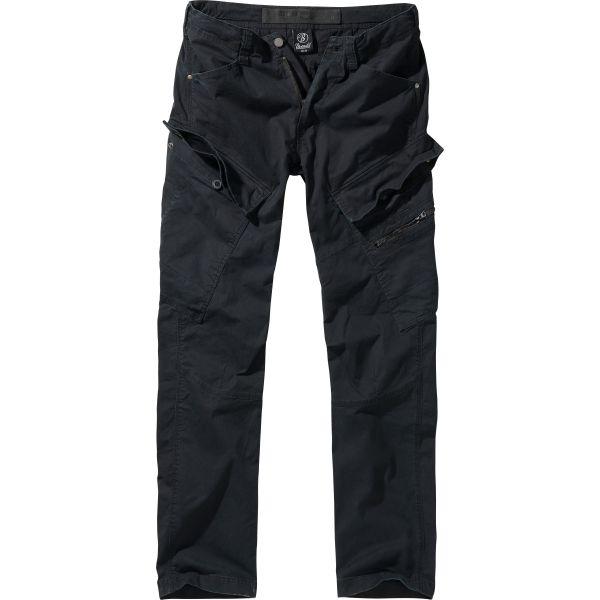 Brandit Adven Trouser slim fit schwarz