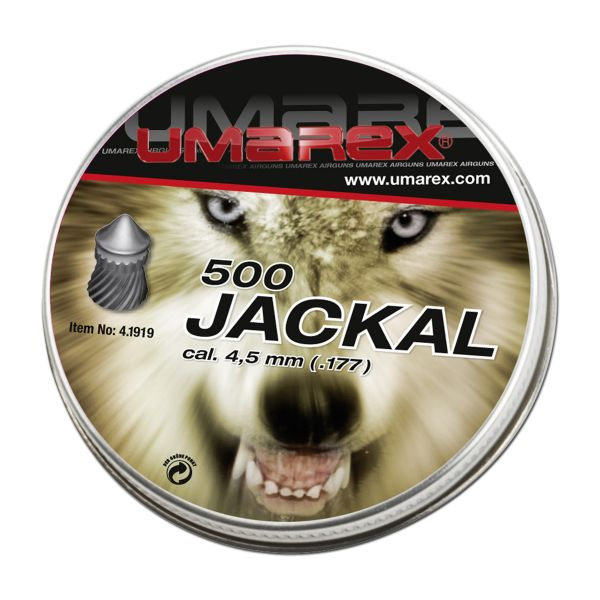 Umarex Diabolos Jackal Spitzkopf Spezial 4.5 mm 500 St.