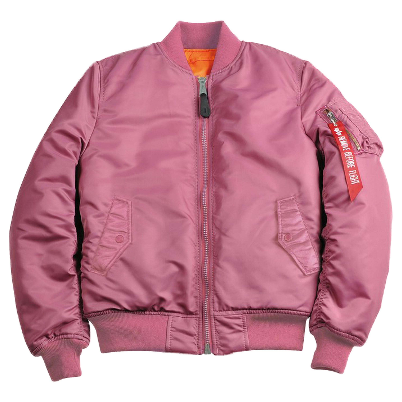 Alpha Industries Damen Fliegerjacke MA-1 SF WMN pink