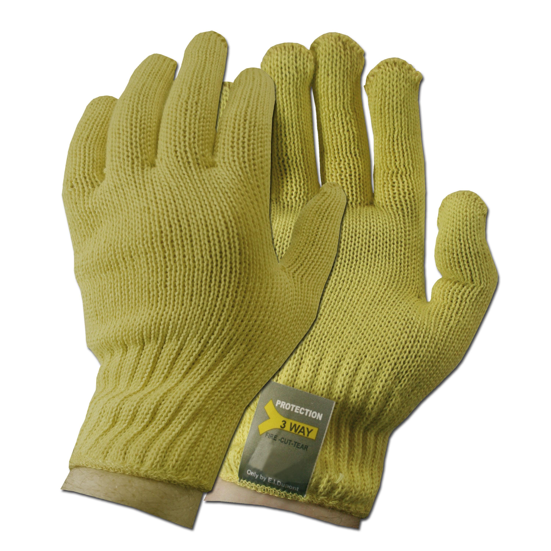 Handschuhe schnitthemmend gelb