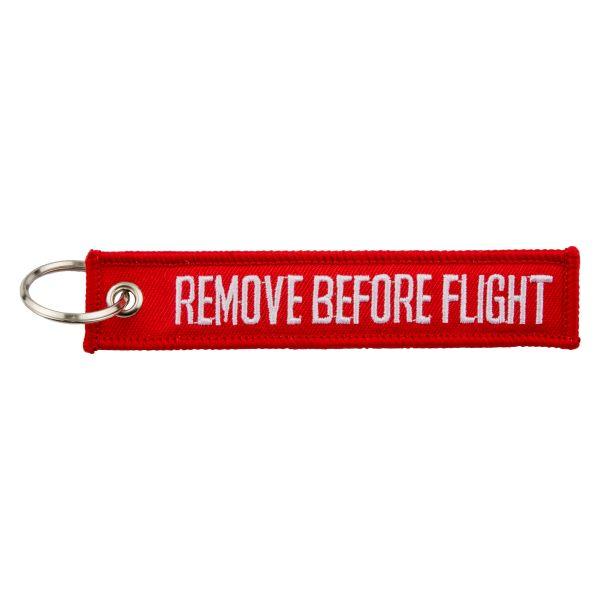 Schlüsselanhänger REMOVE BEFORE FLIGHT