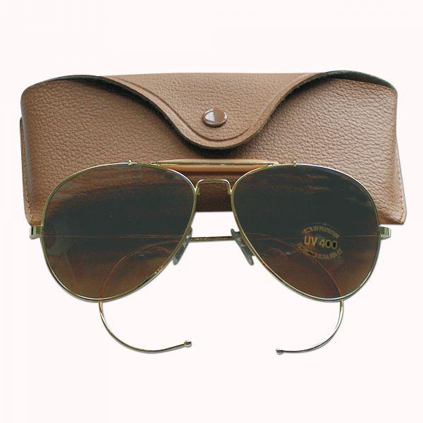 Sonnenbrille braune Gläser