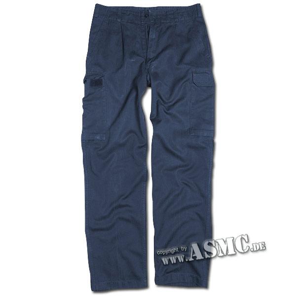 BW Bordhose blau gebraucht