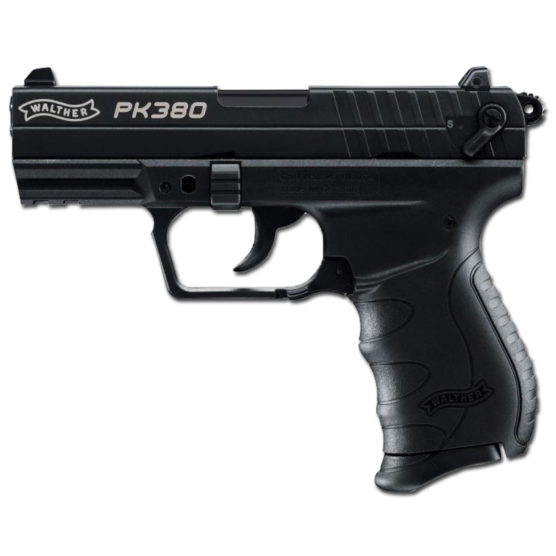 Pistole Walther PK380 brüniert