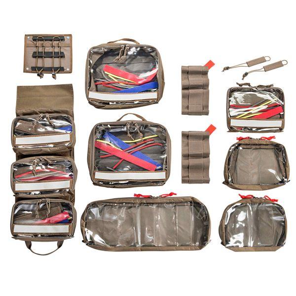 Tasmanian Tiger Taschen Set Modular Medic Insert 45 coyote
