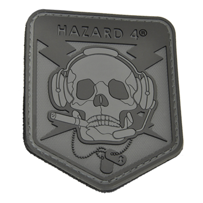 3D-Patch Hazard 4 SpecOp Skull schwarz