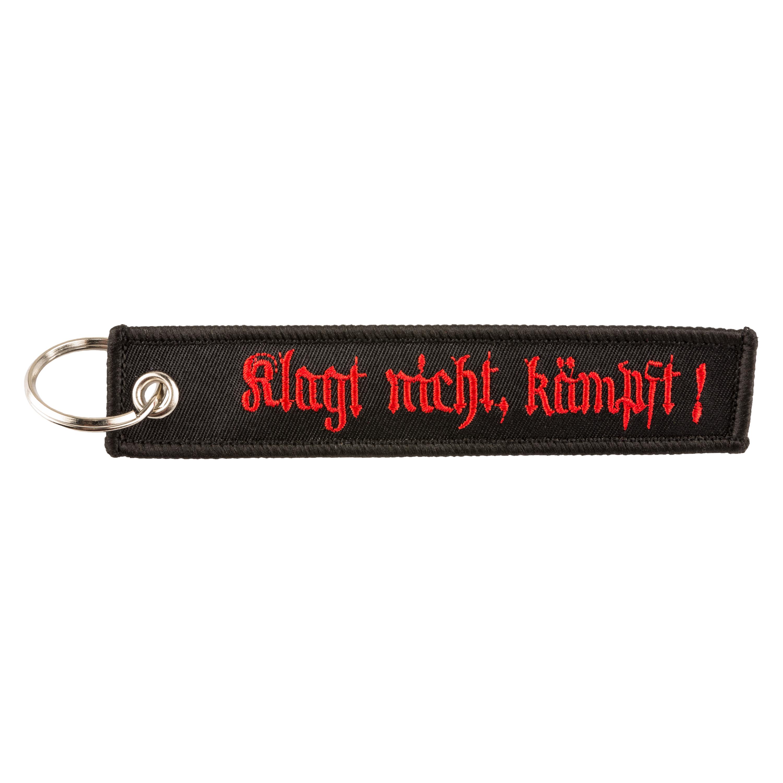 Schlüsselanhänger KLAGT NICHT KÄMPFT