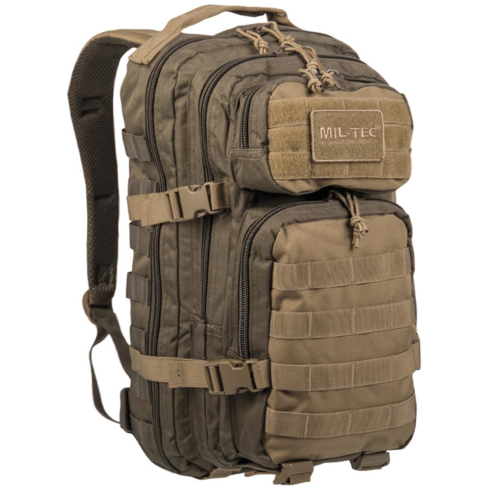 Mil-Tec Rucksack US Assault Pack SM ranger green coyote